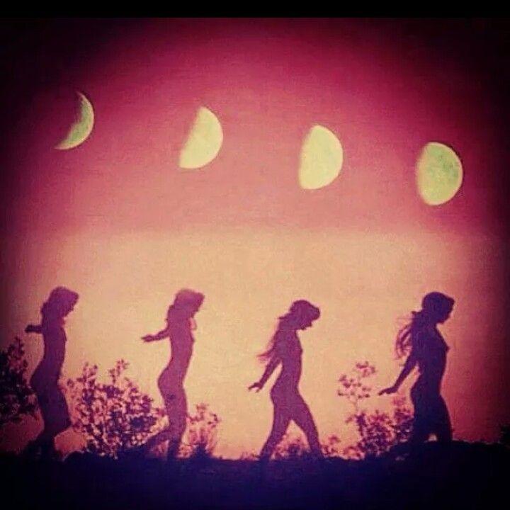 moon cycle! ♡