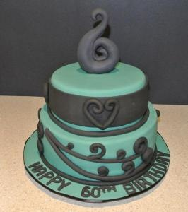 Maori Koru Cake (60th Birthday).