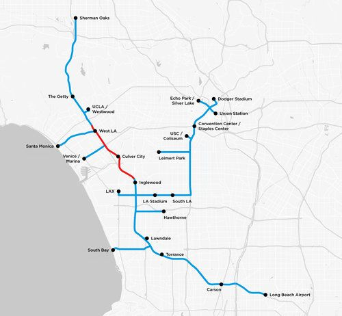 Boring Company Releases Map Of Its Tunnels Under LA  The Boring Companys proposed Los Angeles area tunnel map (Image Credit: The Boring Company)  Now we can see exactly where Tesla CEO Elon Musk plans to dig in LosAngeles with The Boring Company.  The Boring Companys website now includes a map of the greater Los Angeles area complete with a proposed tunneling route. The route is broken into two separate legs which are set to be a Phase 1 and Phase 2. The first phase is the one thats…