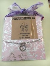 Becoming A Mother Necklace Symbolic Gift, Baby Shower, First Baby