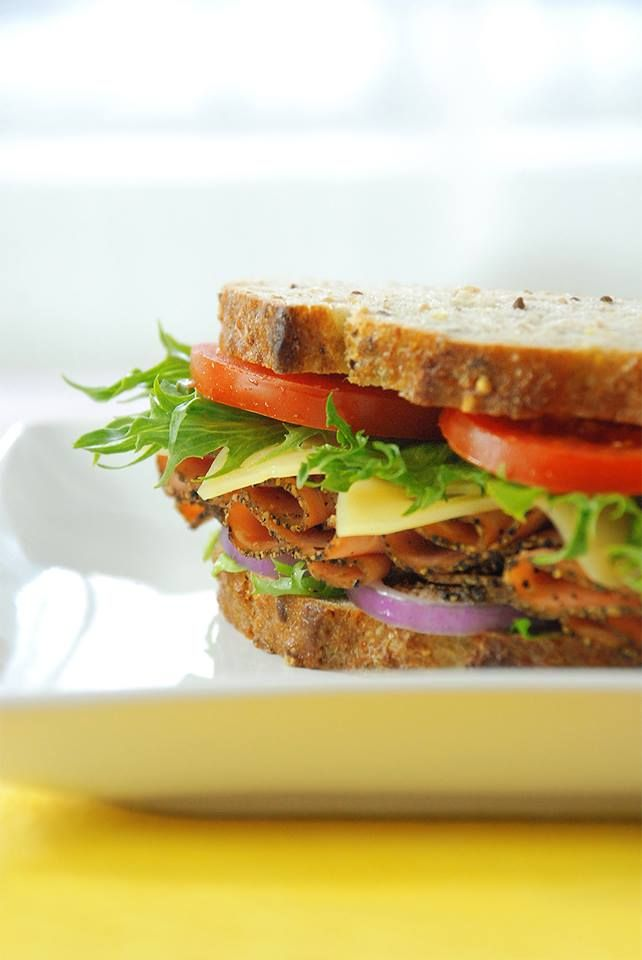 Beat the heat with this yummy sandwich!