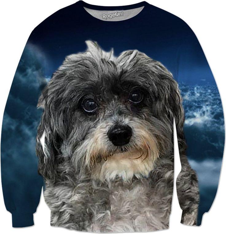 Dog Poodle Cross Sweatshirt #erikakaisersot #rageon #sweatshirt