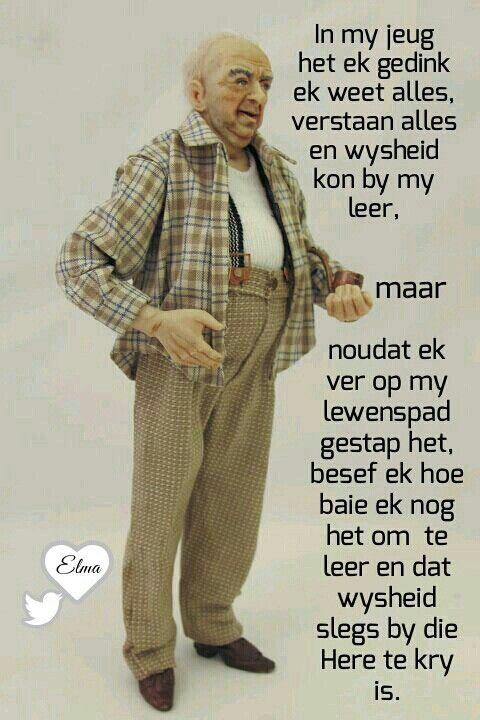 Wysheid... #Afrikaans #GrowingPains #WiseUp