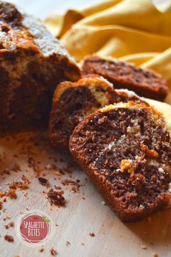 Plum cake al cocco e cacao