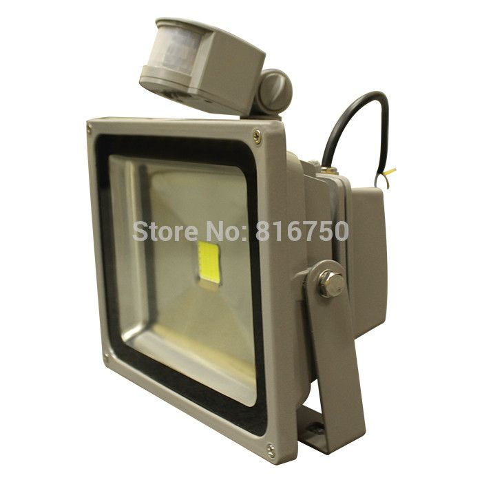 Outdoor lighting LED Flood Light 10W 20W 30W 50W 100W Wall Lamps Floodlight With PIR Motion Sensor D-  Item Type: Flood Lights  Style: Modern  Brand Name: Domini  Certification: CE,RoHS,CCC  Protection Level: IP65  Body Material: Aluminum  Power Source: A