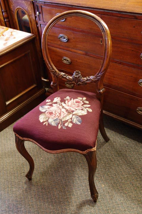 Furniture - Bernardi's Antiques - Toronto | Pair of Mahogany Chairs with  Needlepoint Seats - $450.00 - 20 Best Antique Furniture Images On Pinterest Antique Shops
