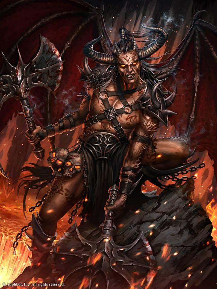 Demon Warrior Demons Pinterest Warriors And Demons