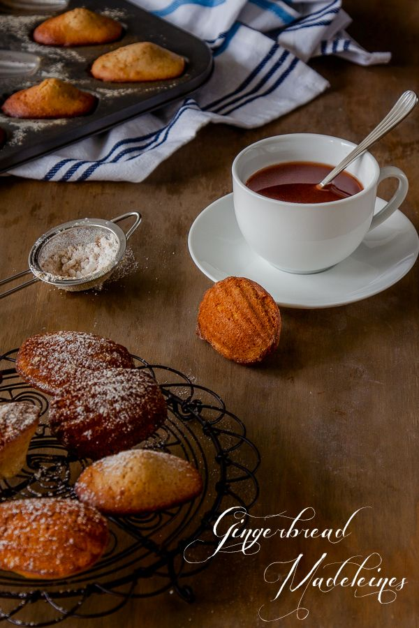 Wake up Christmas morning to these gorgeously fragrant Gingerbread Madeleines. Click for the recipe