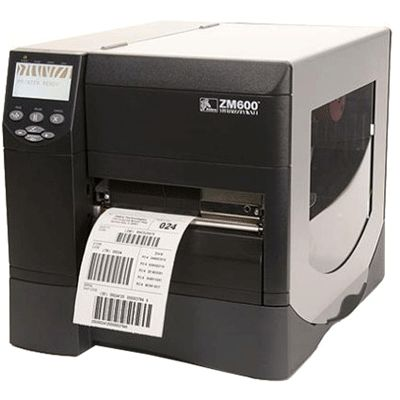 Zebra Zm600 Industrial Label Printer