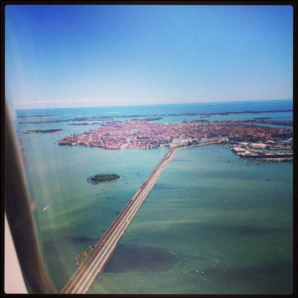 Arrival into Venice
