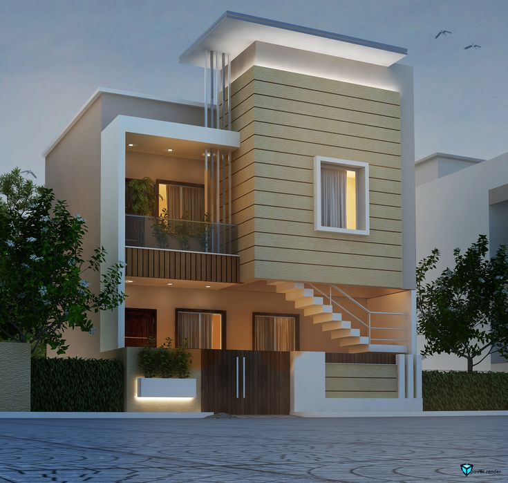 Modern Home Elevation Designs: House Front Design