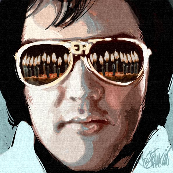 Happy Birthday Elvis! Tomorrow is his 80th! pinned with Pinvolve - pinvolve.co