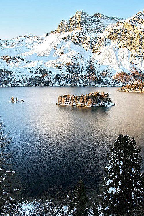 Lac De Sils, Switzerland.