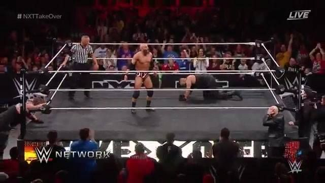 GERMAN SUPLEXES FOR DAYS!!!!!! Tommaso Ciampa is on fire at WWE NXT TakeOver: San Antonio on WWE Network.