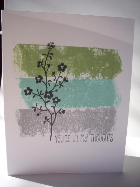 .Love the back ground and how gentle this card is