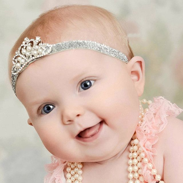 Baby Girl Crown Headband