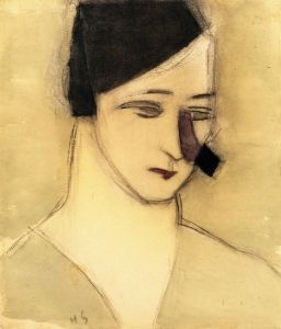 Mother from The Alarm (1935) - Helene Schjerfbeck - The Athenaeum