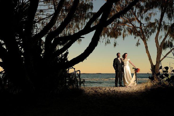 Sunset bride and groom image ... Stradbroke Island Photography - North Stradbroke Island - Wedding Gallery