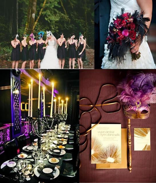 Masquerade Wedding Colours And Ideas