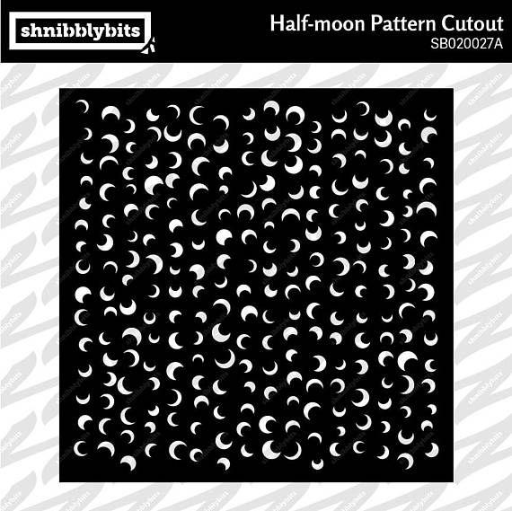 Half-Moon Pattern Cutout