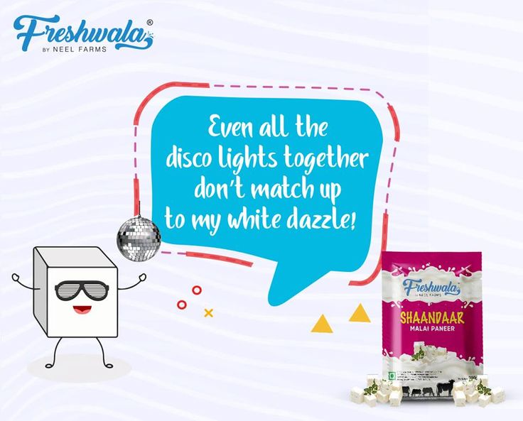 Even all the disco lights together don't match up to my white dazzle.  #Freshwala #Paneer #Shaandaar #Hunger