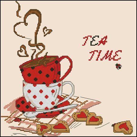 Gallery.ru / Tea Time2 - Небесплатное 3 - tani211
