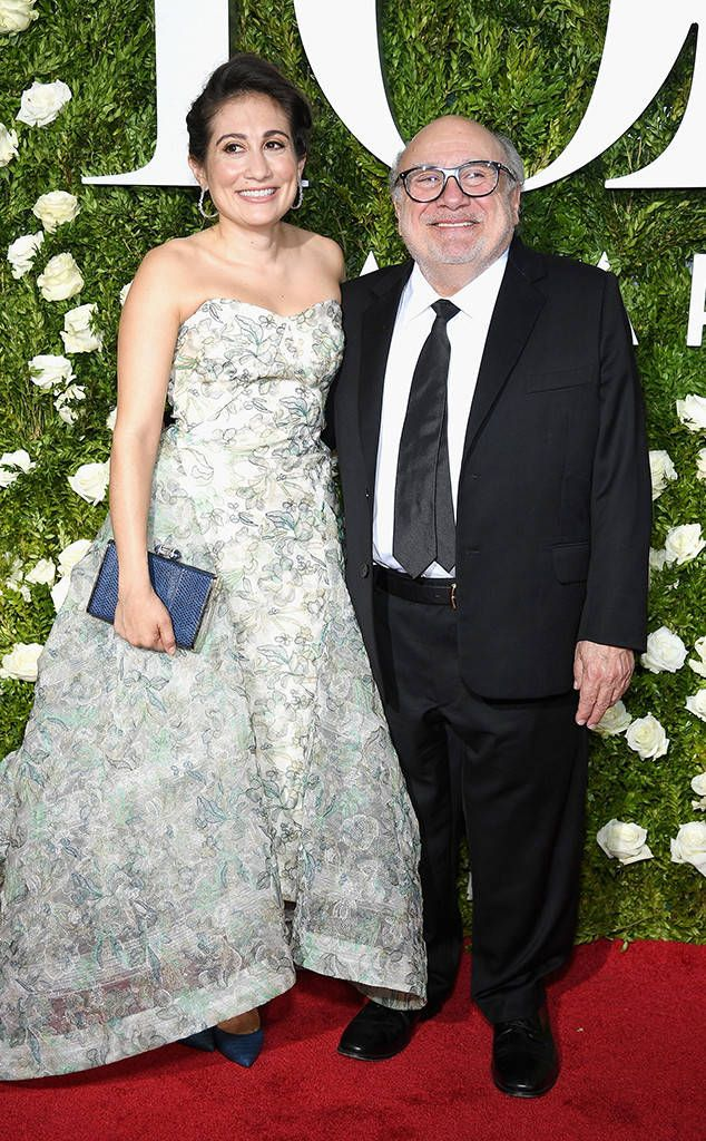 Danny Devito & Lucy Devito from 2017 Tony Awards Red Carpet Arrivals  The funny man and his daughter have a fun night at the 2017 Tony Awards.