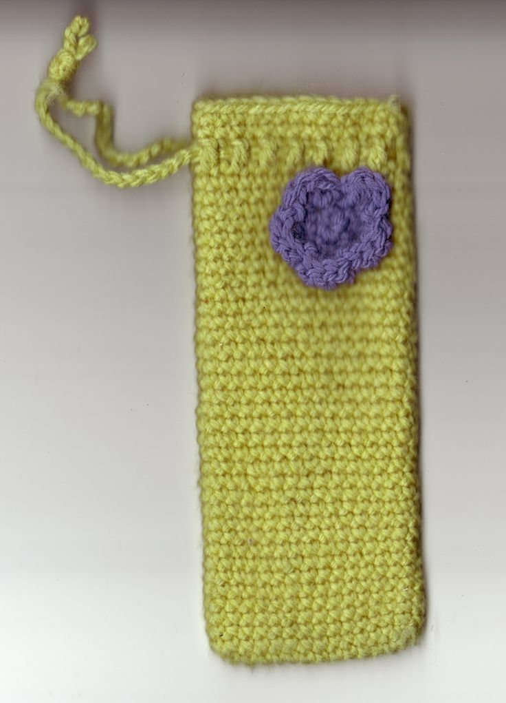 crochet glasses case - Google Search