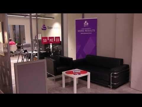 Somecon toimiston ja Logomo Byrån avajaiset #video #office