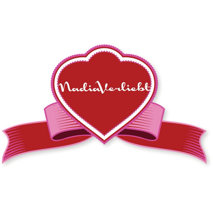 #Valentine #Edition #nadiaverliebt #logo #brand #branding #design
