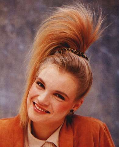 57 best 1980s hairstyles images on pinterest 1980s hairstyles hairstyles wore this to school urmus Image collections