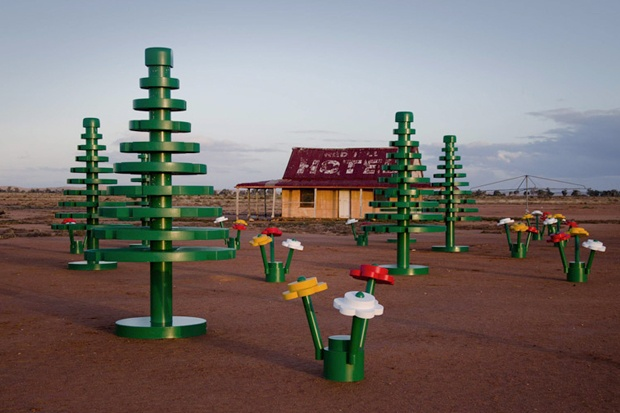 LEGO Sets Up Life-Sized Forest in Australian Outback | Hypebeast