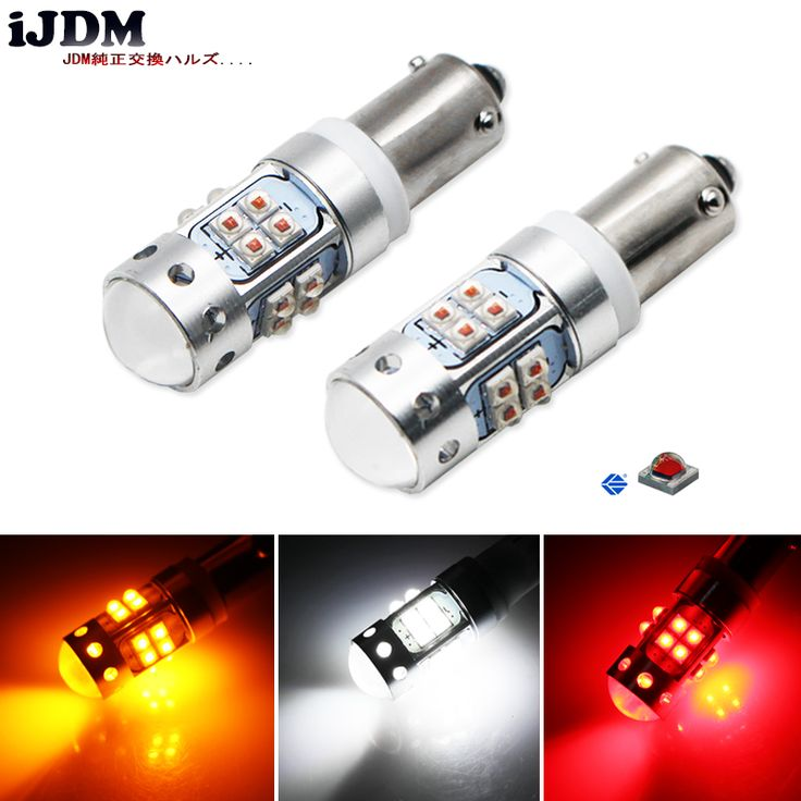 IJDM H21W BAY9s LED Replacement Bulbs For Position Parking Lights or Backup Reversing Brake LightsTurn Signal (white Red Amber). Yesterday's price: US $19.99 (16.52 EUR). Today's price: US $17.79 (14.70 EUR). Discount: 11%.