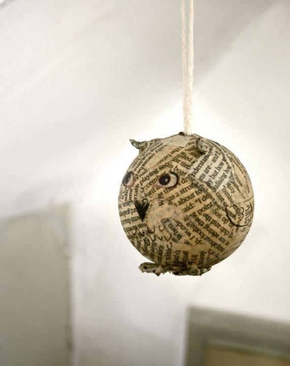paper animal ornament