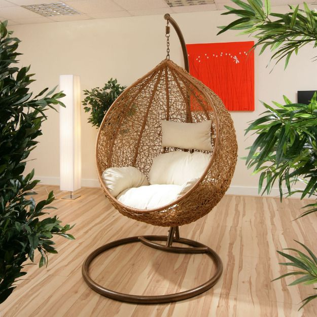 Luxury Interior Swings Or Jhula To Give Modern Look To Your Home. These  Cane Swings With Single Seat Are Perfect For Small Rooms And Balcony.