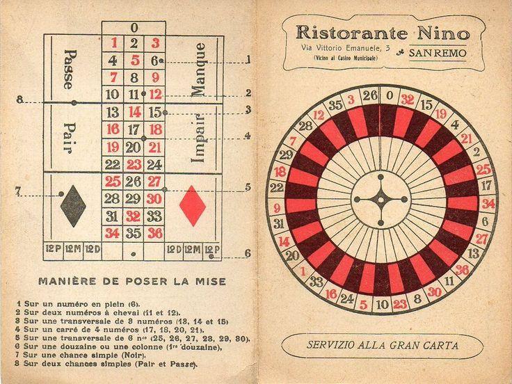 roulette spielplan