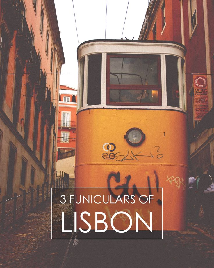 We show you the three funiculars of #Lisbon: Lavra, Gloria and Bica.