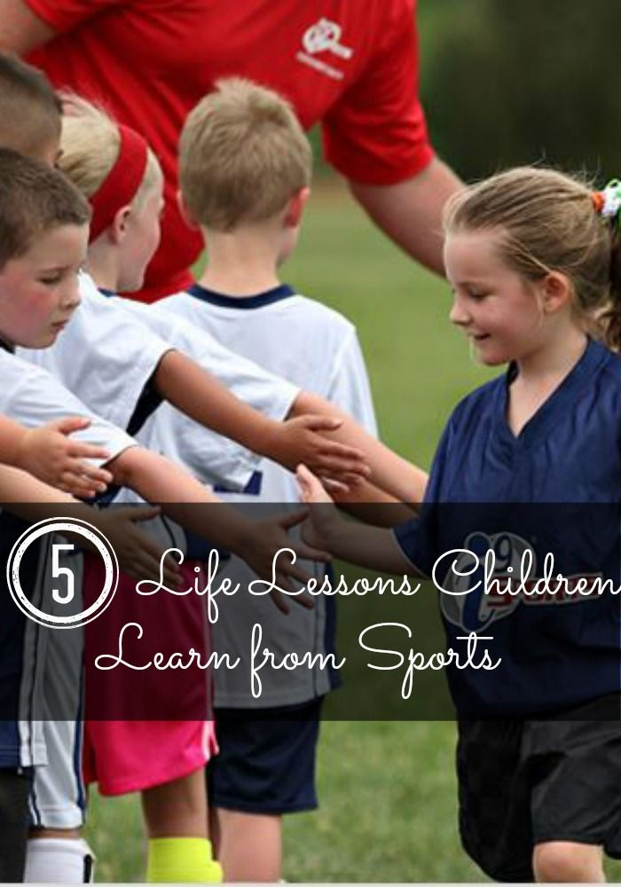 Middle East Map Your Child Learns%0A   life lessons children learn through sports
