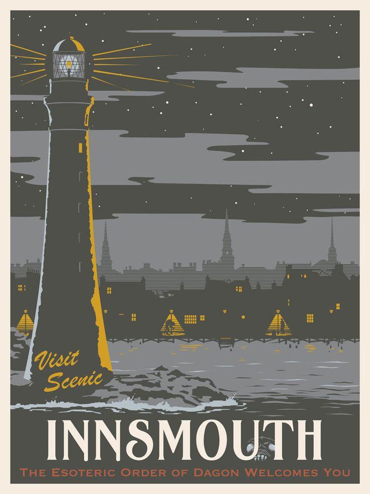 Lovecraftian Shadow Over Innsmouth