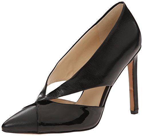 Nine West Women's Tayme Leather Dress Pump, Black/Black, 7.5 M US Nine West http://www.amazon.com/dp/B00V66JA3A/ref=cm_sw_r_pi_dp_-n1.vb1MEAJMX