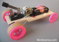 Pulley Motor Car Design ideas