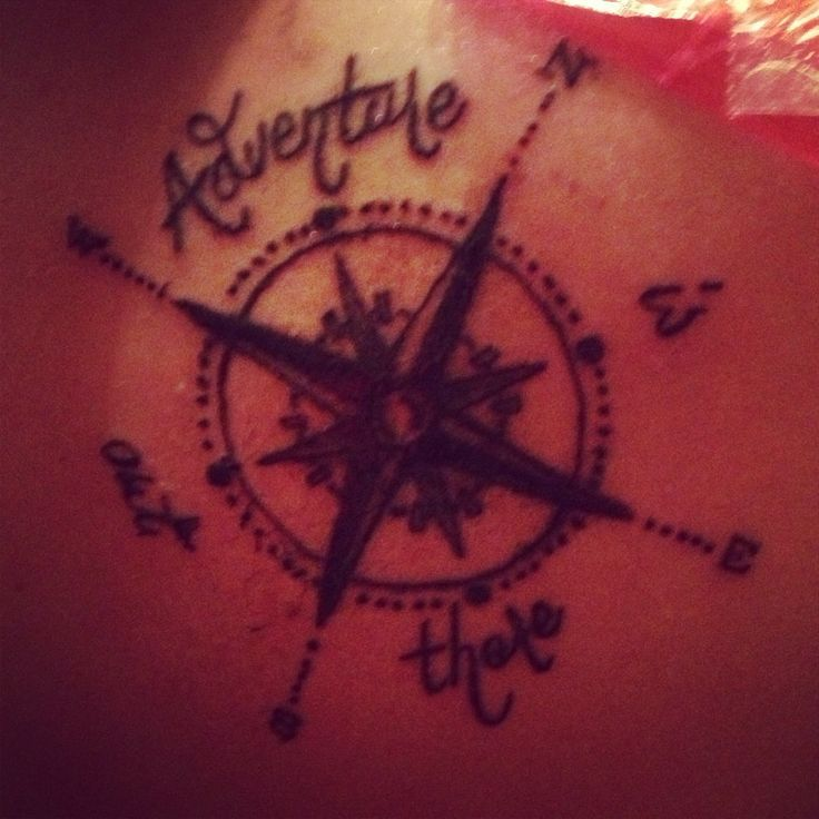 adventure is out there compass Tattoo | Adventure is out there. Up! Movie quote