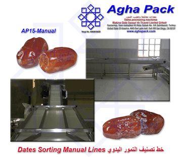 Dates Sorting Manual Line