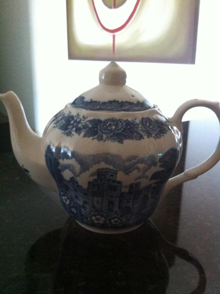 My antique teapot