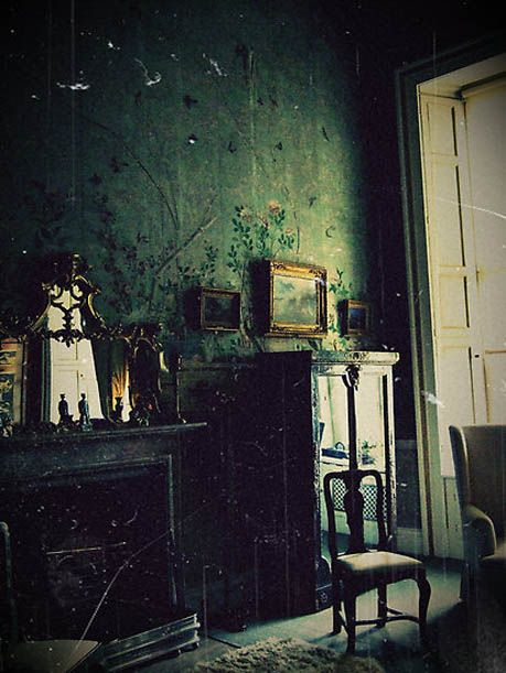 Dark decadent decor aesthetics greenhouses and blog page - Castle room decore ...