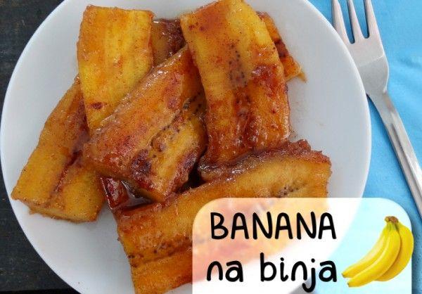 Bakbananen die nu eens niet krokant gebakken worden, maar overgoten zijn in een heerlijke saus van bruine suiker, port en kaneel. Het maakt een ideaal toetje en is toch zó klaar. Banana na binja is van oorsprong een Arubaans gerecht. Wij zeggen dat er een grote kans bestaat dat het bij íedereen in de smaak …