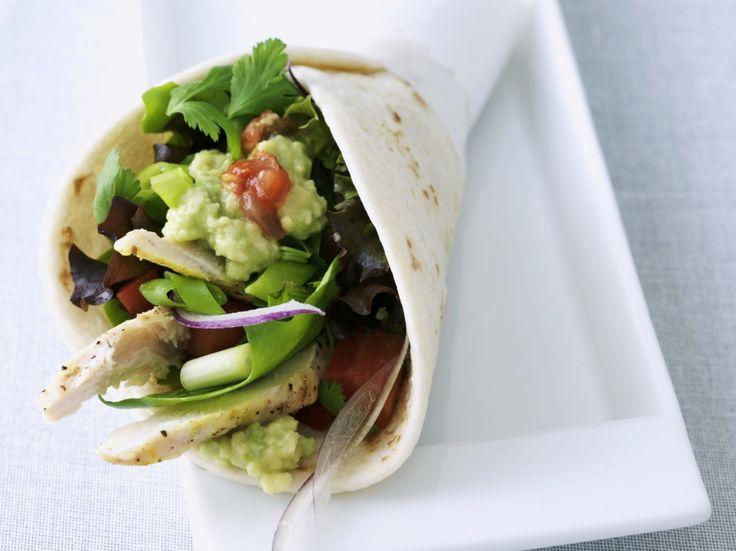 Tortilla met kip en guacamole - Libelle Lekker