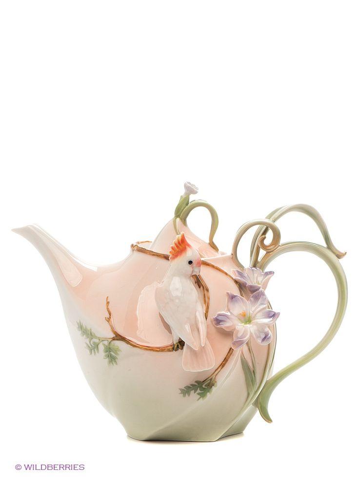 """Заварочный чайник """"Попугай Какаду"""", Pavone на Маркете VSE42.RU"""