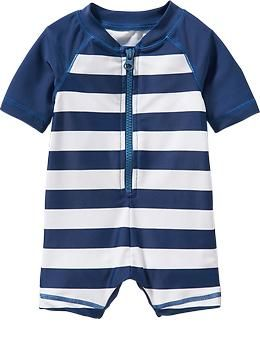 henry Striped Bodysuit Rashguards for Baby