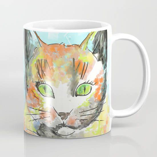Cat Mug / Tazza in ceramica / Gatto